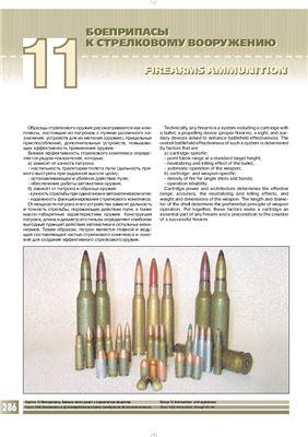 Боеприпасы к стрелковому вооружению. Firearms Ammunition