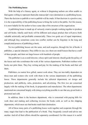 Збірник текстів для читання для ВНЗ спеціальності Видавнича справа та редагування