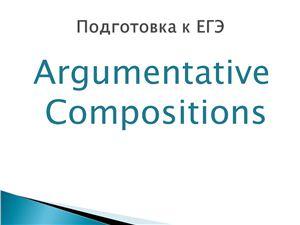 Argumentative Compositions