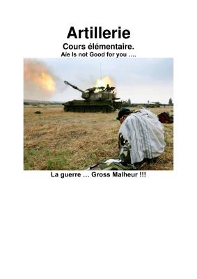 Artillerie. Cours élémentaire