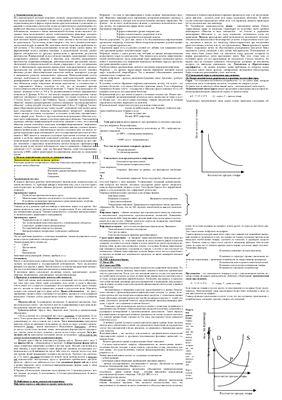 Ответы к ГОС. экзамену по экономической теории