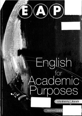 Cox K., Hill D. English for Academic Purposes