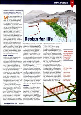 Harcus M. Design for life