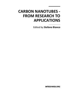 Bianco S. (ed.) Carbon Nanotubes - from Research to Applications