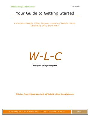 Weight Lifting Complete Guide (ENG)