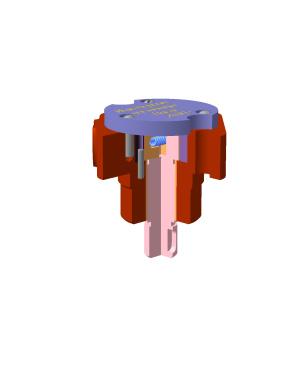 Деталировка Роторный насос шиберного типа
