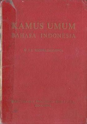 Poerwadarminta W.J.S. Kamus umum bahasa Indonesia