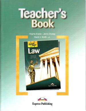 Career Paths: Law - Teacher's Book
