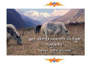 Книга Бытия на тибетском и китайском
