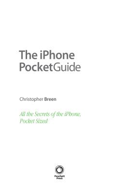 Брин К. iPhone. Полный карманный справочник