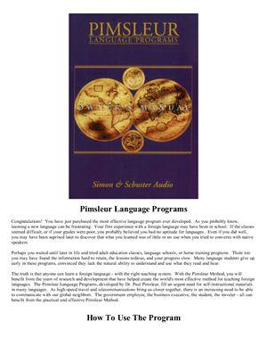 Paul Pimsleur. Pimsleur Armenian Eastern Basic Course Part 1