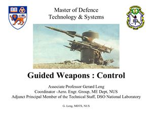 Gerard Leng. Guided Weapons: Control. / Управляемое оружие. Проблемы управления