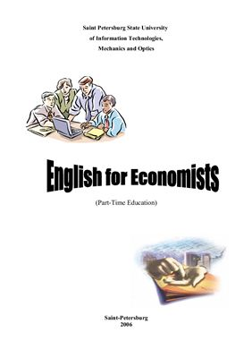 English for Economists (Part-Time Education)