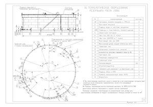 Резервуар вертикальный стальной с плавающей крышей (РВСПК-20000)