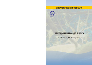 Павлова Е.С., Сокотущенко В.Н. Эргодинамика для всех