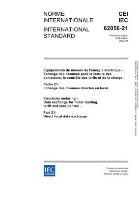 IEC 62056-21:2002 Direct local data exchange