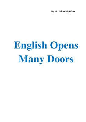English Opens Many Doors