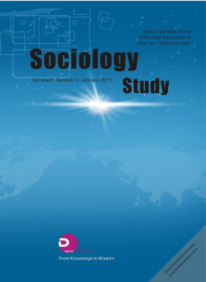 Sociology Study 2015 №01 (44) январь