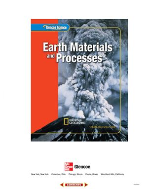 Feather R.M., Jr., Zike D. Glencoe Science. Earth Materials and Processes