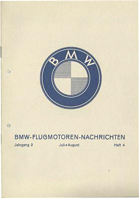 BMW Flugmotoren - Nachrichten. Jahrgang 2. Heft 4. Juli - August 1930