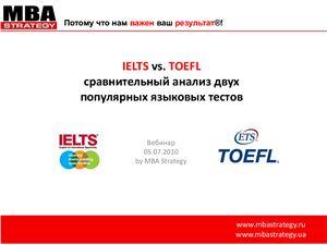 TOEFL vs. IELTS