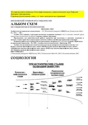 Беляев А.А. Альбом схем по социологии и политологии