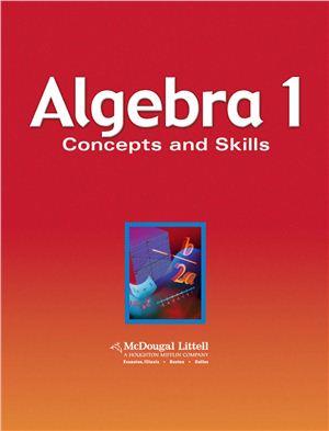 Larson R., Boswell L., Kanold T., Stiff L. Algebra 1: Concepts and Skills