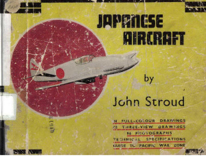 John Stroud. Japanese Aircraft 1945