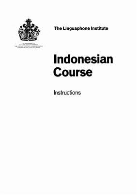 Ibrahim (drs.). Linguaphone Indonesian Course / Лингафонный курс индонезийского языка. Booklet