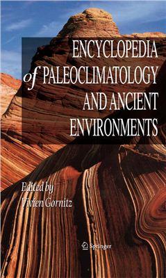 Odekon M. Encyclopedia of paleoclimatology and ancient environments