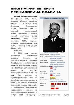 Биография Бравина Евгения Леонидовича