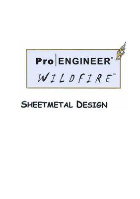 Pro/ENGINEER. Конструирование с использованием листового материала