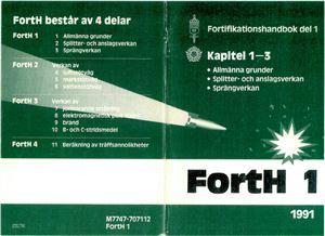 Fortifikationshandbok. FortH 1