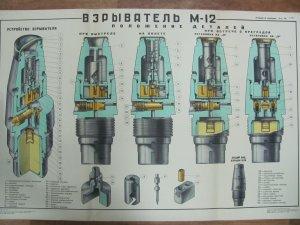 Плакат. Взрыватель М-12 (фото 3648х2736)