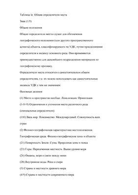 Справочник по Универсальной десятичной классификации (УДК)