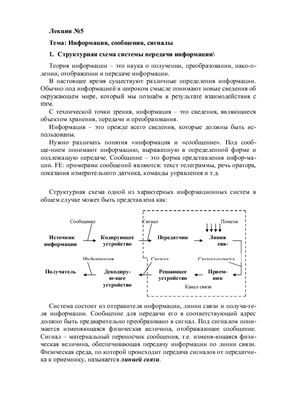 Лекция №5