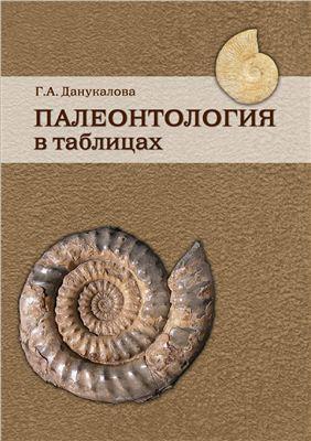 Данукалова Г.А. Палеонтология в таблицах
