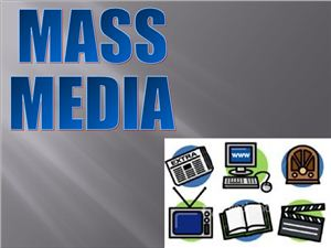 Mass media презентация к уроку