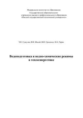 Гужулев Э.П. Водоподготовка и вводно-химические режимы в теплоэнергетике