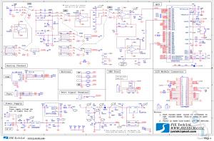 Схема цифрового осциллографа DSO 138