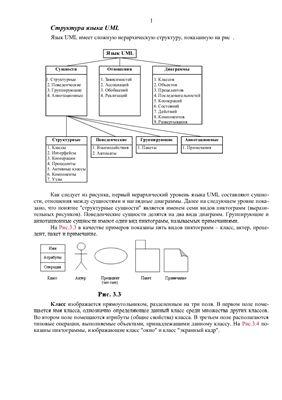 Реферат - Язык UML