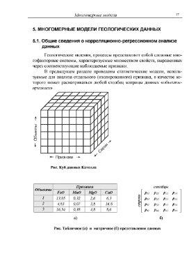 Лекции - Математические методы моделирования в геологии