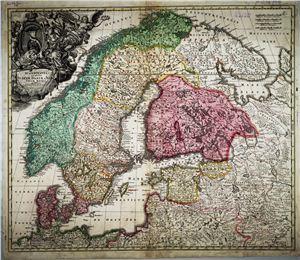 Коллектив картографов - Атласы Скандинавии
