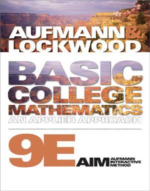 Aufmann R.N., Lockwood J.S. Basic College Mathematics: An Applied Approach