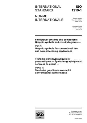 ISO 1219-1 Part1 Grapfic symbols for conventional use and data-processing applications