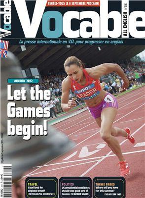 Vocable All English 2012 №316 12 Juillet au 5 Septembre