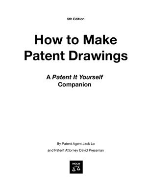 Lo J. How to make patent drawings
