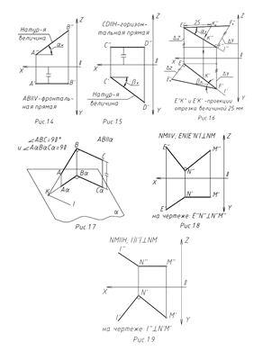 Задачи по инженерной графике