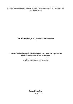 Большаков Б.Е., Ермилов В.В., Шамаева Е.Ф. Технологические основы управления региональным и отраслевым устойчивым развитием в техносфере