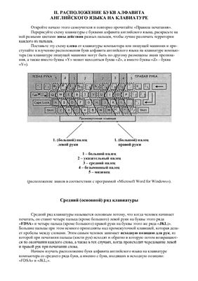 Черная Р.И. Самоучитель машинописи на компьютере или пишущей машинке. Ускоренный метод обучения. Часть 2 (английский язык)